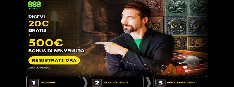 CasinГІ Online Bonus Senza Deposito