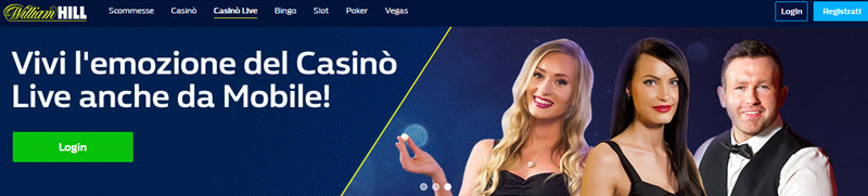 William Hill Live Mobile