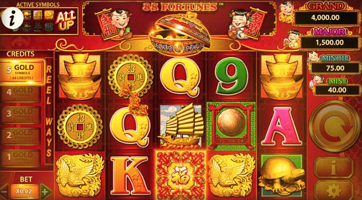 88 Fortunes Slot Machine