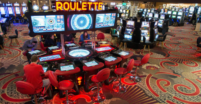 Live casino strategy